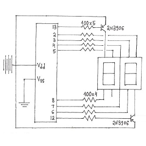 arduino wiring sketch with Arduino 2 Digit 7 Segment Display Counter Circuit on 3 Axis Motion Sensor moreover Stepper Motor Shield For Arduino DRV8825  SKU DRI0023 further XL320 moreover Ds3231 Wiring Diagram moreover Arduino 2 Digit 7 Segment Display Counter Circuit.