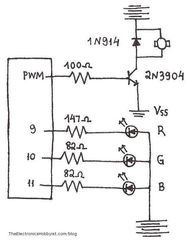 Schematic Led on simple led circuits for dummies