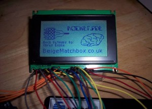 Lumex LCD Rocket game