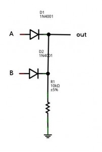 Diode OR Gate